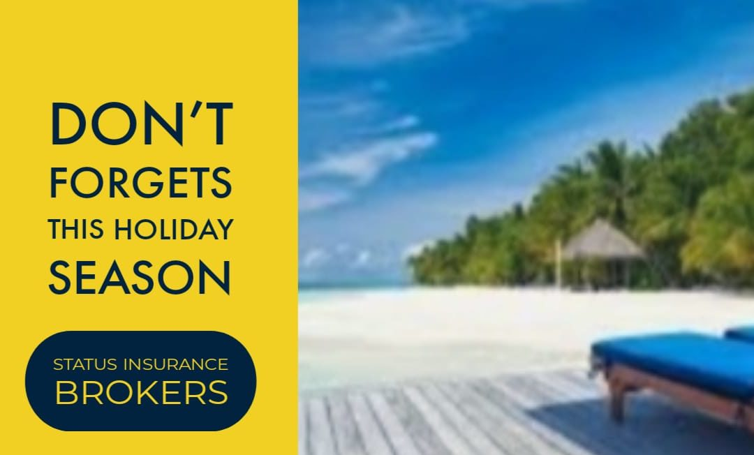 Holiday Insurance Issues to Take Care Of